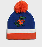 Mitchell & Ness Florida Gators NCAA Stripe Bobble Hat