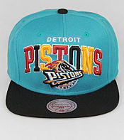 Mitchell & Ness Arch Pop Detroit Pistons NBA Snapback