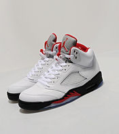 Jordan V Retro 'Fire Red'