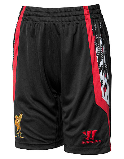 Warrior Sports Liverpool 2013/14 Junior Away Shorts