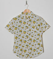 Obey Short Sleeve Low End Flower Shirt