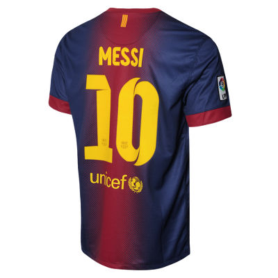 Nike Barcelona Home Shirt Lionel Messi
