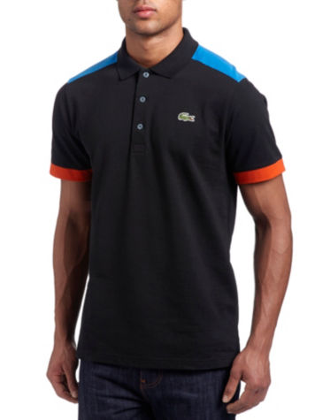 Lacoste Shoulder Panel Polo Shirt