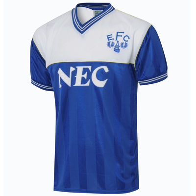 Score Draw Everton 1986 Retro Shirt
