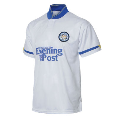 Score Draw Leeds United Retro 1992 Home Shirt