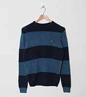 Farah Vintage Fall Stripe Knit