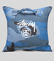 Stussy Camo Stock Pillow