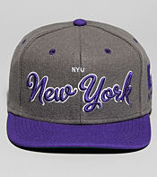 Mitchell & Ness Script New York University Snapback Cap
