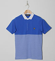 Lyle & Scott Panel Stripe Polo Shirt