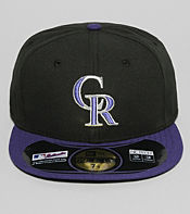 New Era MLB Colorado Rockies 59 Fifty Fitted Cap