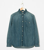 Carhartt Long Sleeved Civil Denim Shirt