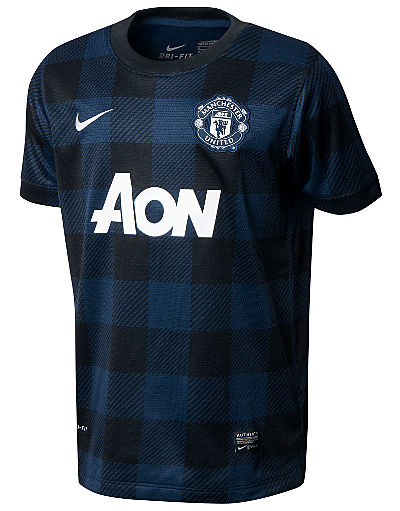 Nike Manchester United 2013/14 Junior Away Shirt