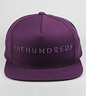 The Hundreds Basic Mono Snapback Cap