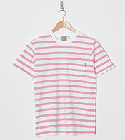 Carhartt Marver Stripe Pocket T-Shirt