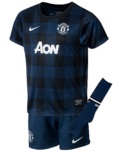 Nike Manchester United 2013/14 Childrens Away Kit