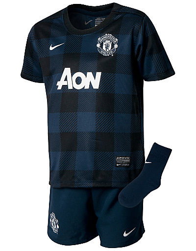Nike Manchester united 2013/14 Infants Away Kit