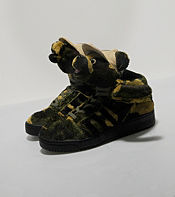 adidas Originals x ObyO Jeremy Scott Camo Bear