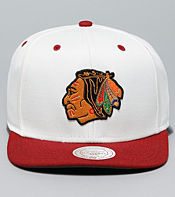 Mitchell & Ness NHL 6 Panel Cream Top Cap