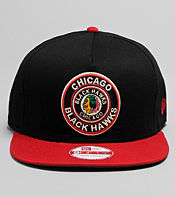 New Era NHL Chicago Black Hawks Circle Snapback Cap