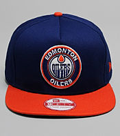 New Era NHL Edmonton Oilers Circle Snapback Cap