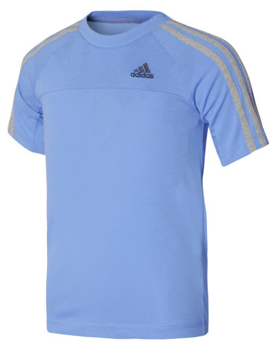 adidas 3 Stripe Essentials T-Shirt Junior
