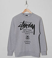 Stussy World Tour Sweatshirt