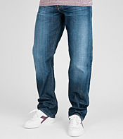 Edwin ED39 Loose Heavy Wash Jeans - Long