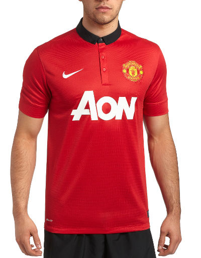 Nike Manchester United 2013/14 Home Shirt