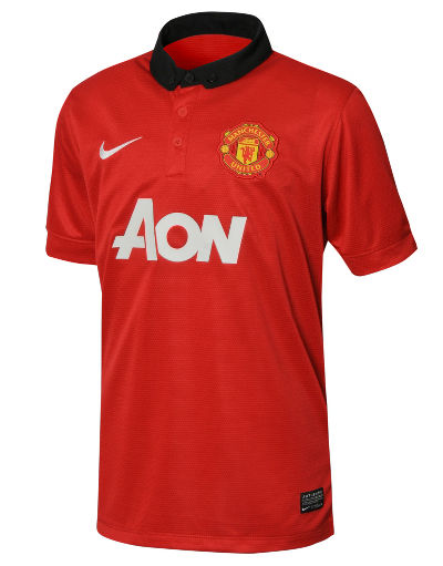 Nike Manchester United 2013/14 Junior Home Shirt