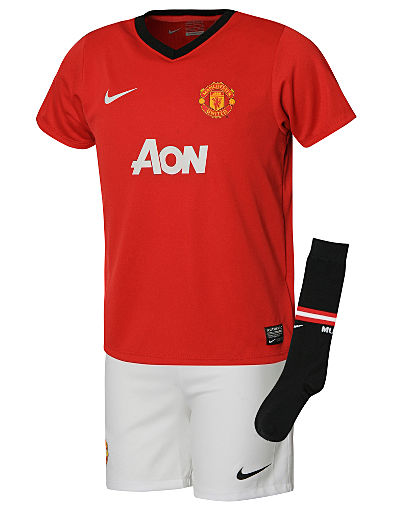 Nike Manchester United 2013/14 Childrens Home kit