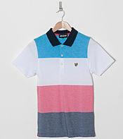 Lyle & Scott Multi Stripe Pique Polo Shirt