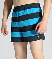 Lyle & Scott Striped Swim Shorts