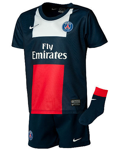 Nike PSG 2013/14 Infants Home Kit