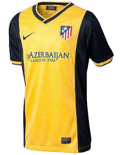Nike Atletico Madrid 2013/14 Away Shirt Junior