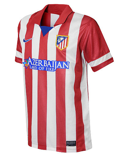 Nike Atletico Madrid 2013/14 Junior Home Shirt