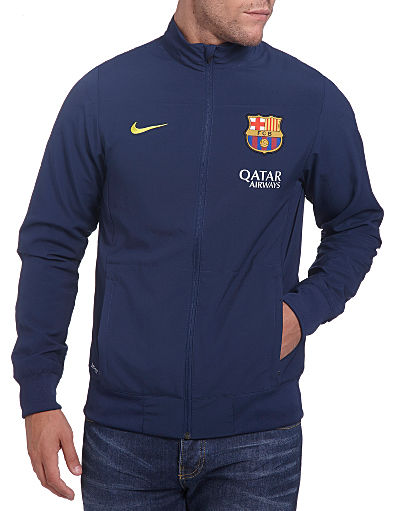 Nike FC Barcelona 2013/14 Woven Warm Up Top