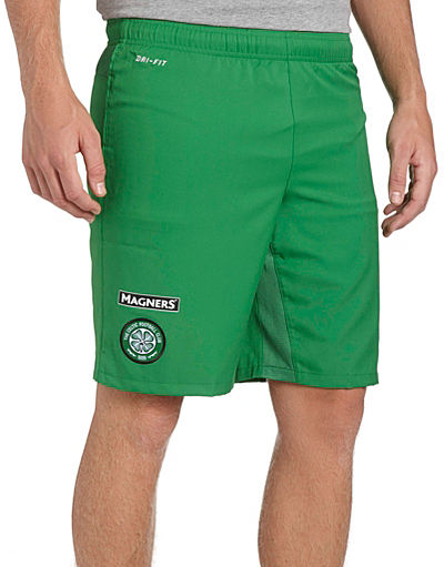 Nike Celtic 2013/14 Away Shorts
