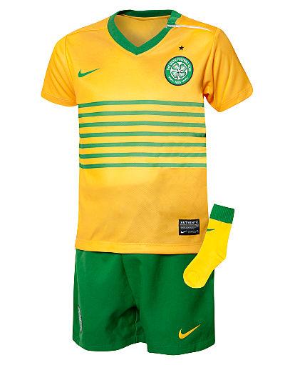 Nike Celtic Away 2013/14 Kit Infants