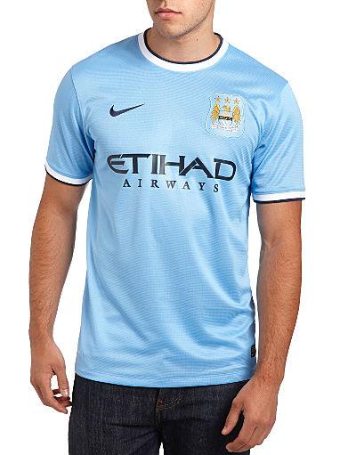 Nike Manchester City 2013/14 Home Shirt