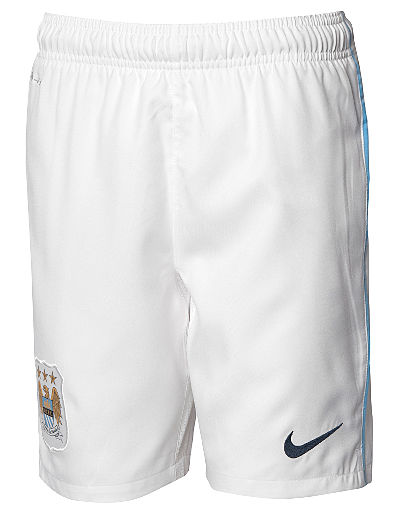 Nike Manchester City 2013/14 Jnr Home Shorts