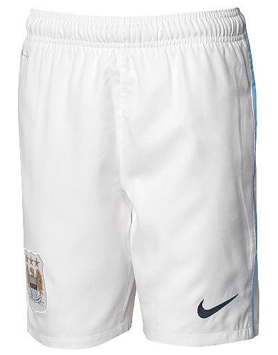 Nike Manchester City 2013/14 Jnr Home Shorts