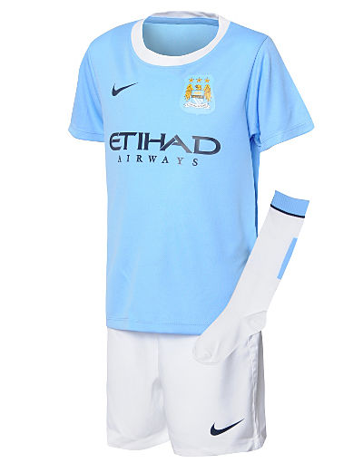 Nike Manchester City 2013/14 Childrens Home