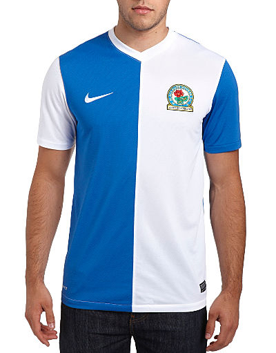 Nike Blackburn Rovers 2013/14 Home Shirt