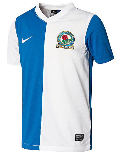 Nike Blackburn Rovers 2013/14 Junior Home Shirt