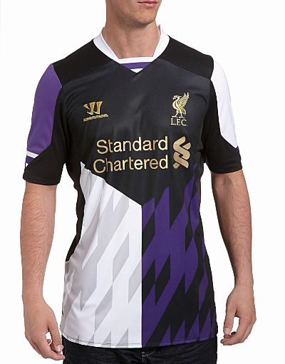 Warrior Sports Liverpool 2013/14 Third Shirt