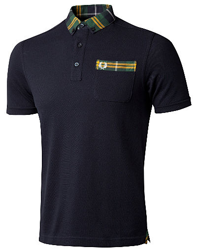 Fred Perry Checked Polo Shirt