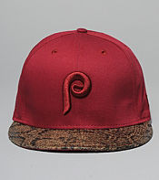 New Era Python Philies Strapback Cap - size? exclusive