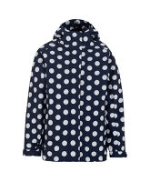 Girl's Polka Dot Waterproof Jacket