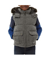 Boy's Interest Fabric Gilet