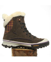 Women's Pixie Lace Waterproof Snow Boots